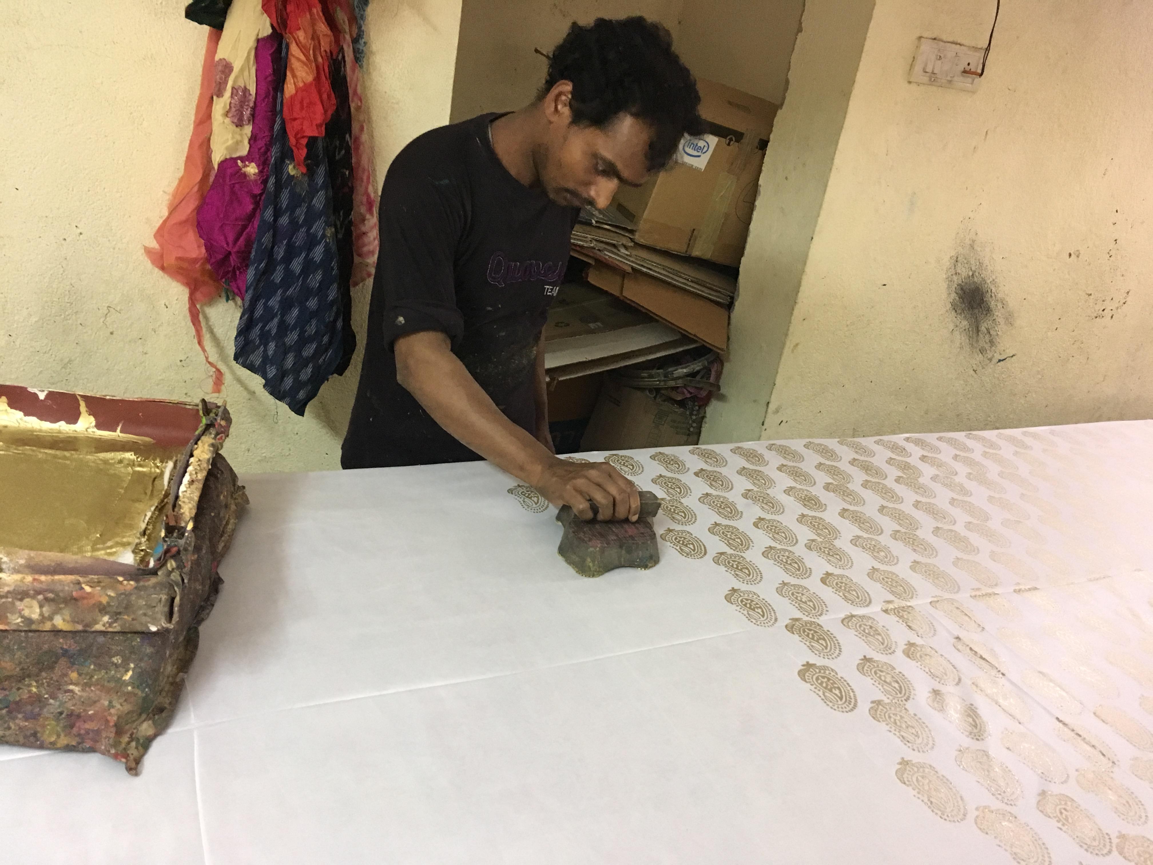 Block Printing Unit | Dress Materials & Sarees